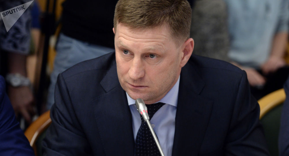 俄哈巴罗夫斯克边疆区行政长官富尔加尔因涉嫌谋杀案被羁押