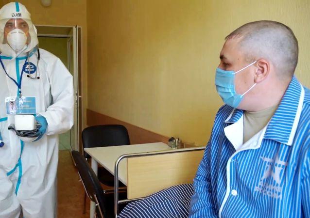 俄军累计已有24477名军人感染新冠病毒后康复