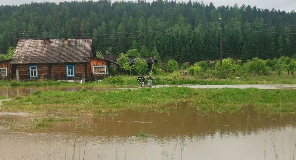 9月远东地区河水达到危险水位的情况很少见