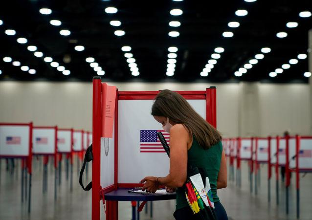 媒体:美法院推翻密歇根州投票站禁止携带武器的禁令