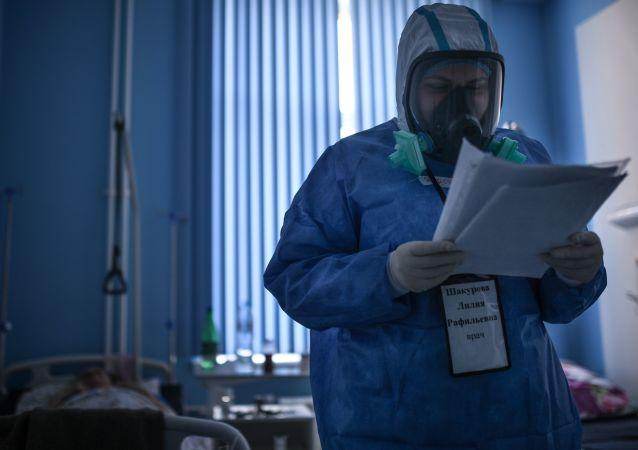 俄罗斯COVID-19感染每日新增数量峰值不会超过2万例