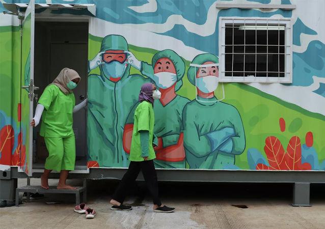 中国驻印尼大使谈抗疫