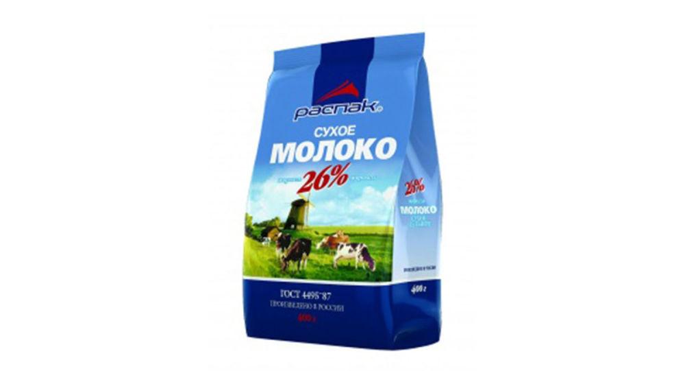 俄农业企业计划对华出口奶粉