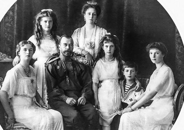 俄帝国末代沙皇一家