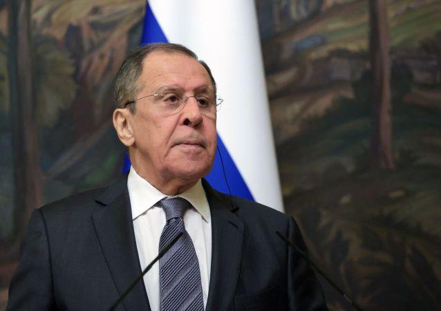 俄罗斯外交部部长拉夫罗夫