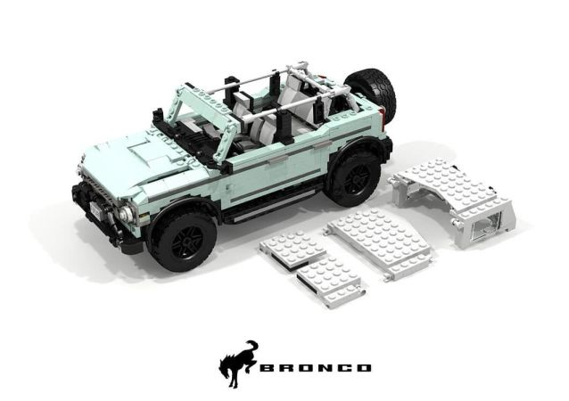福特工程师用乐高打造Bronco越野车