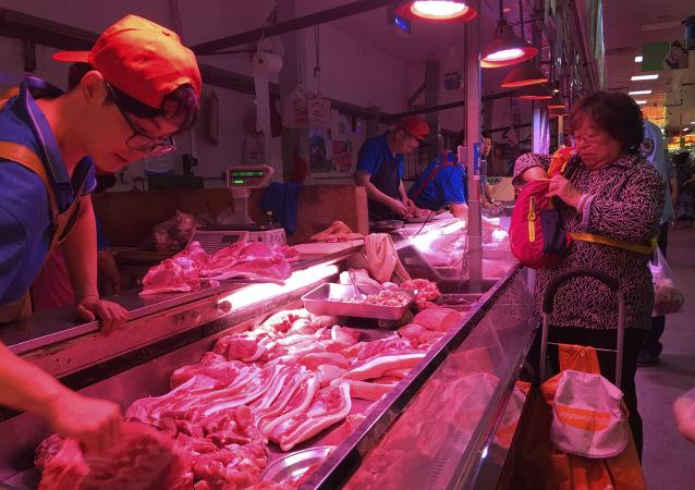 俄媒:中国猪肉产量下降