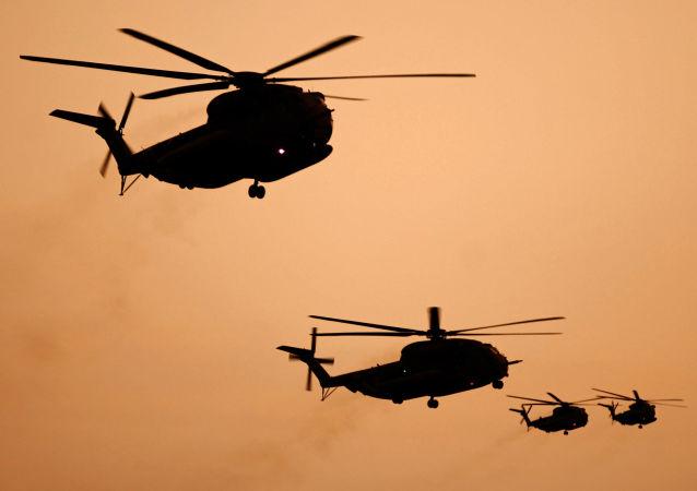 以色列军队直升机