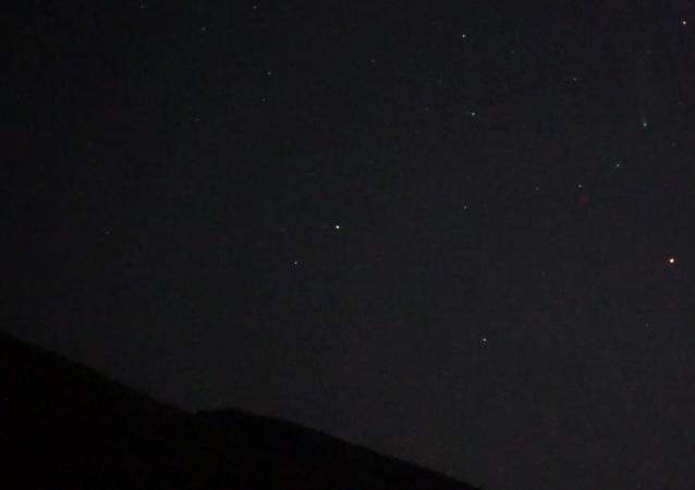 NEOWISE彗星曾最小距离飞近地球