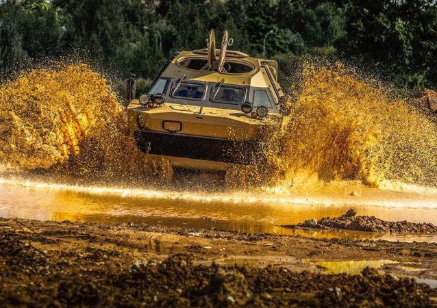 BRDM-2装甲侦察车