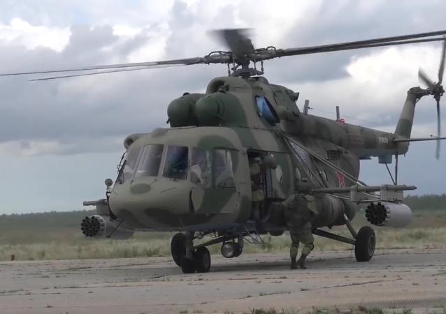 俄空降部队大规模演习