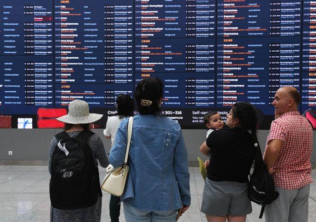 俄罗斯与六国恢复航空交通