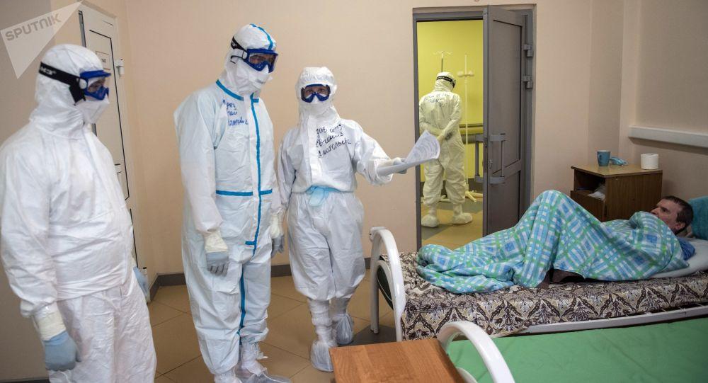 病毒学家评估俄罗斯第二波新冠疫情的严重程度
