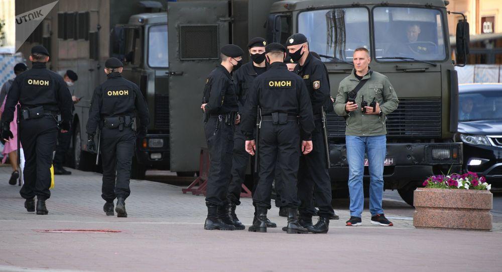 白俄罗斯警察