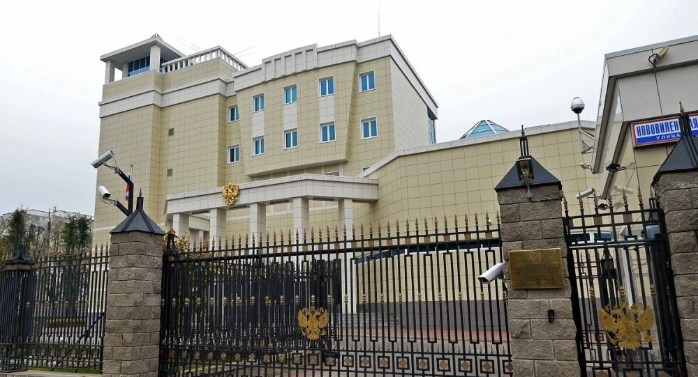 俄大使馆在明斯克