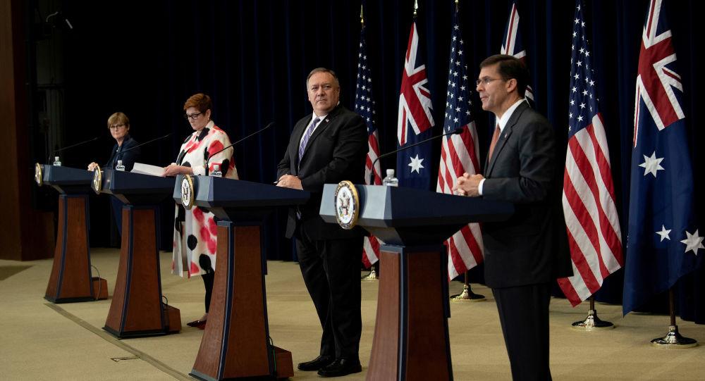 澳大利亚拒绝美国伤害与中国的关系