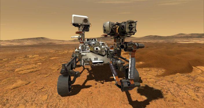 """美国""""毅力""""号火星车完成着陆火星"""