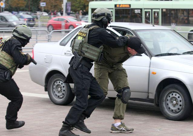 白俄罗斯警方