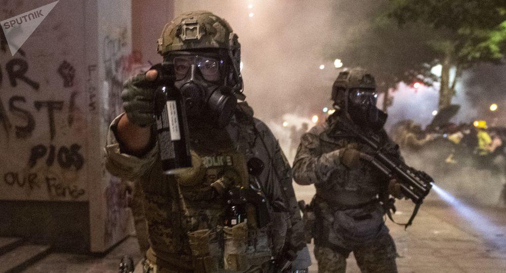 特朗普:美国国土安全部人员不会离开波特兰