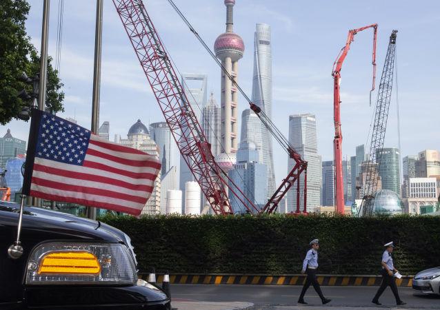 1-8月中美贸易额为3443 亿美元 同比下降3.5%