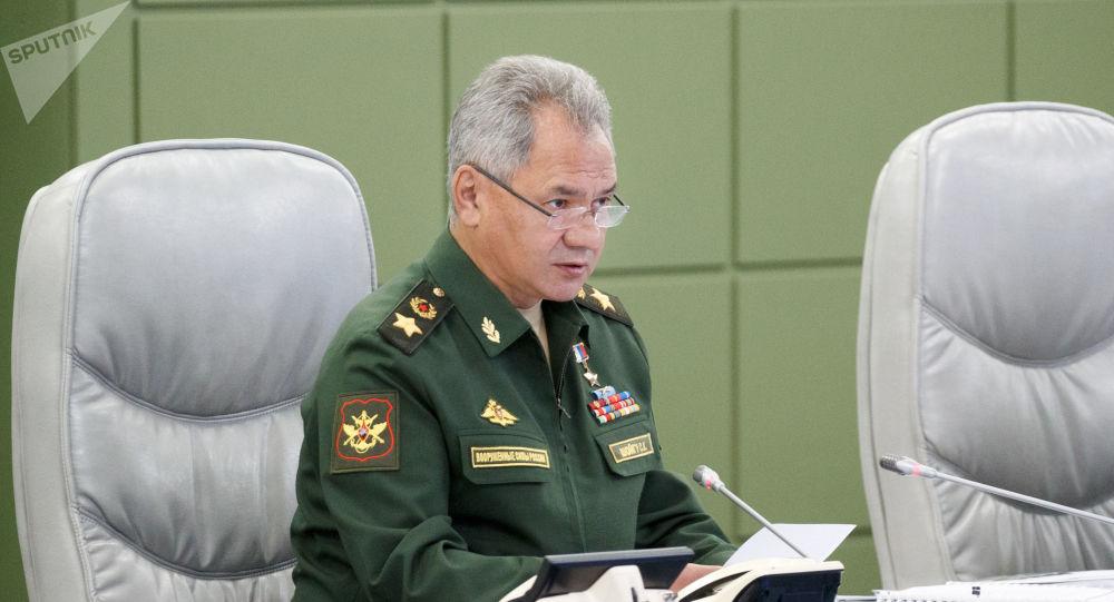俄罗斯国防部长绍伊古 资料图