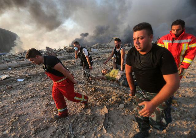 黎巴嫩卫生部长:贝鲁特及郊区医院伤者爆满
