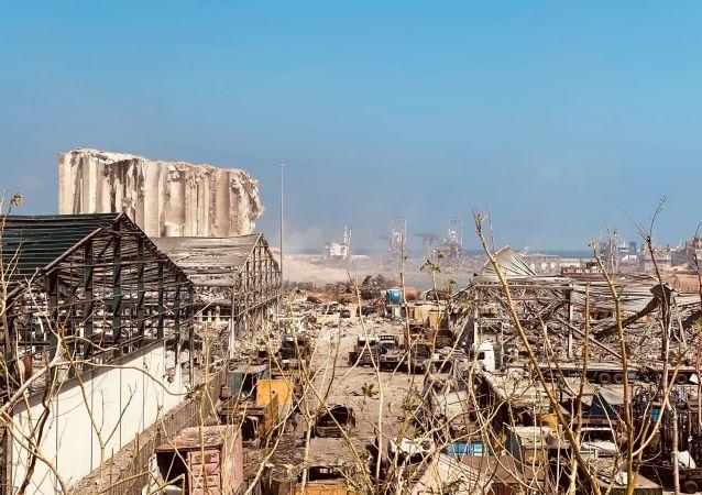 """黎巴嫩经济部:贝鲁特港口爆炸不会造成该国""""面粉危机"""""""