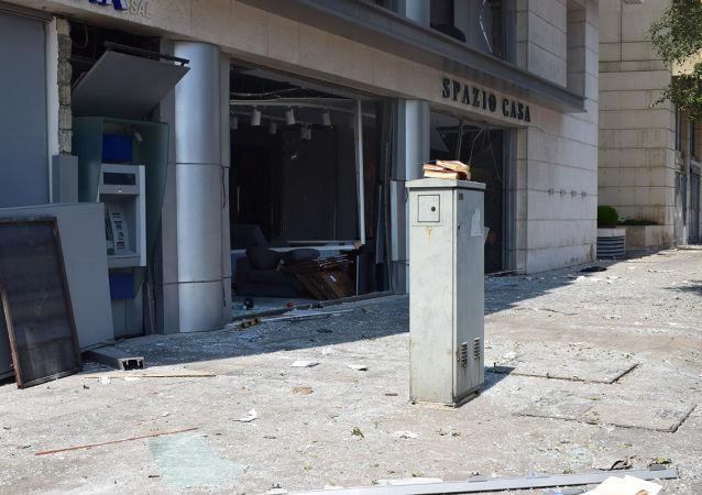 贝鲁特港区大爆炸造成的损失估计会高达150亿美元