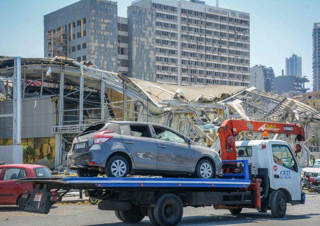 俄驻黎巴嫩大使:违反安全技术规定这一恶行诱发贝鲁特大爆炸