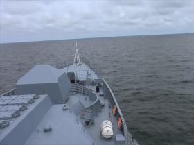 """俄海军部队根据""""海洋之盾-2020""""军演预想展开作业"""
