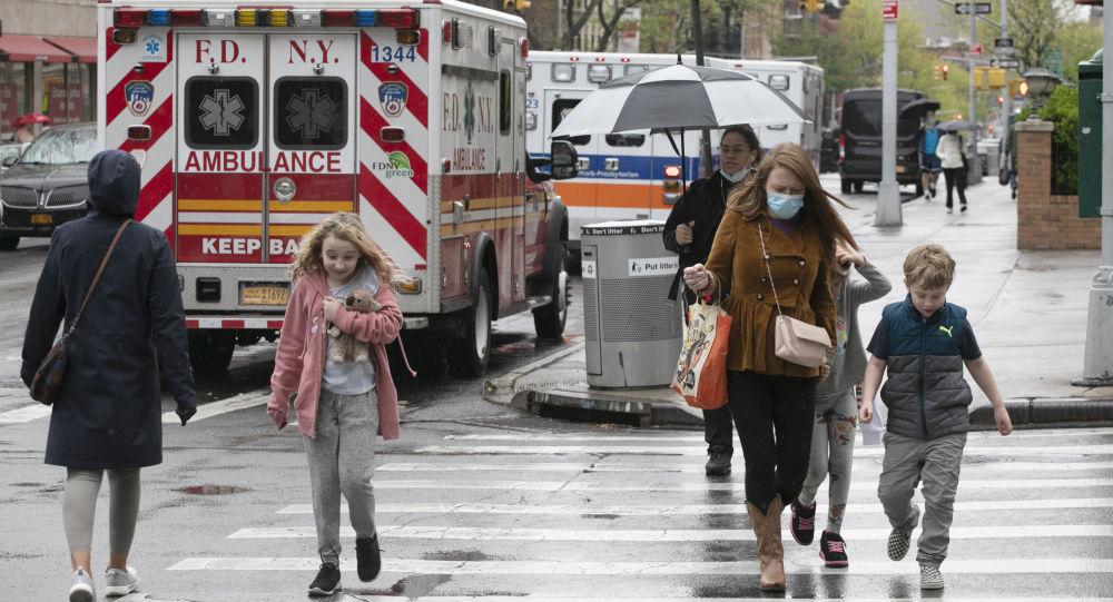 霍普金斯大学:过去一趟美国新增确诊新冠病毒确诊病例超过5.9万例