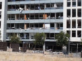 贝鲁特爆炸灾区