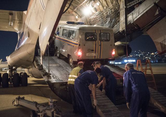 俄紧急情况部称该部野战医院开始在贝鲁特接待受伤者