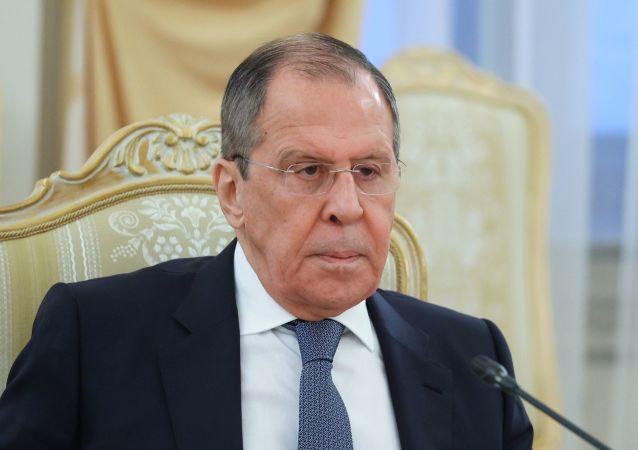 俄罗斯外长谢尔盖∙拉夫罗夫