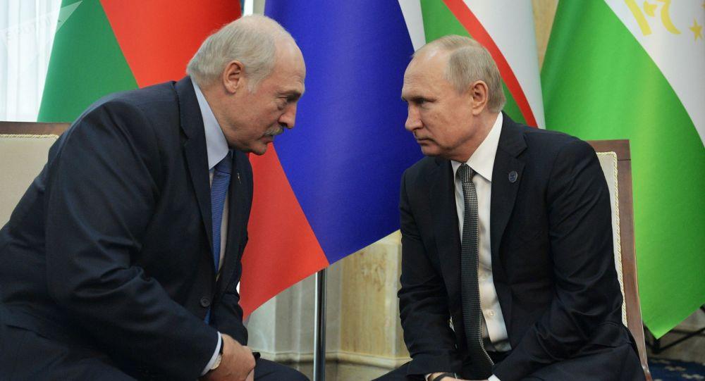 卢卡申科和普京