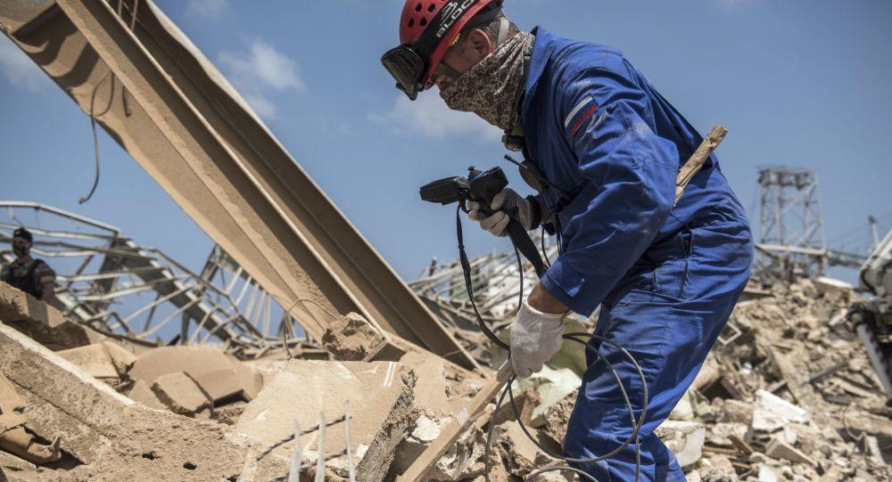 俄紧急情况部救援人员在贝鲁特又发现两具遇难者遗体
