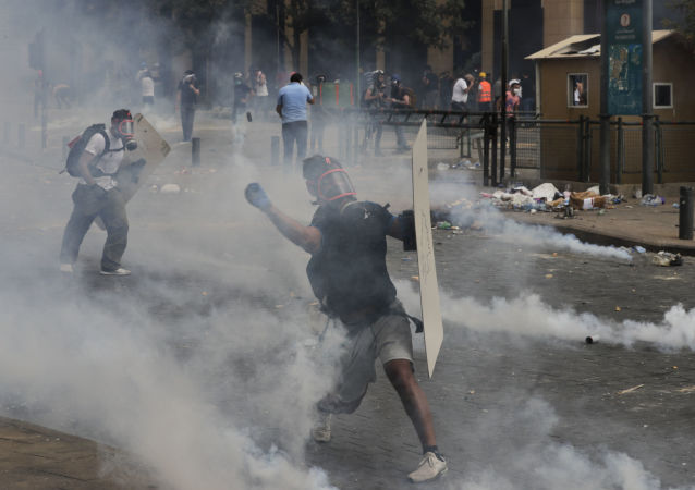 贝鲁特抗议活动