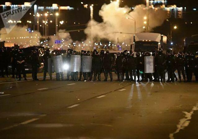 明斯克的抗议活动