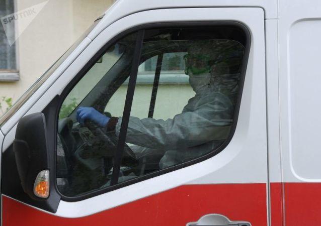 白俄罗斯救护车