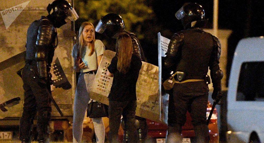 立陶宛外交部:白俄罗斯的抗议活动并由非外部组织而是自发的