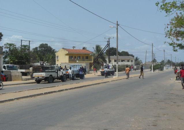 莫桑比克北部港口城市莫辛布瓦