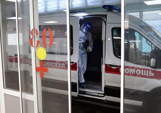 新冠病毒,莫斯科