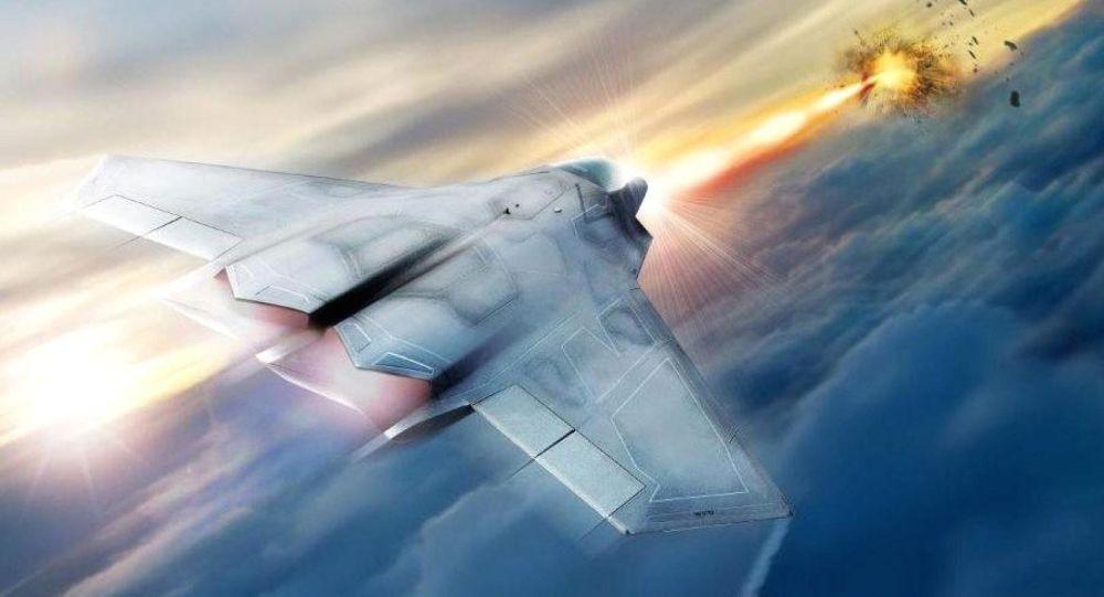 激光武器,歼击机