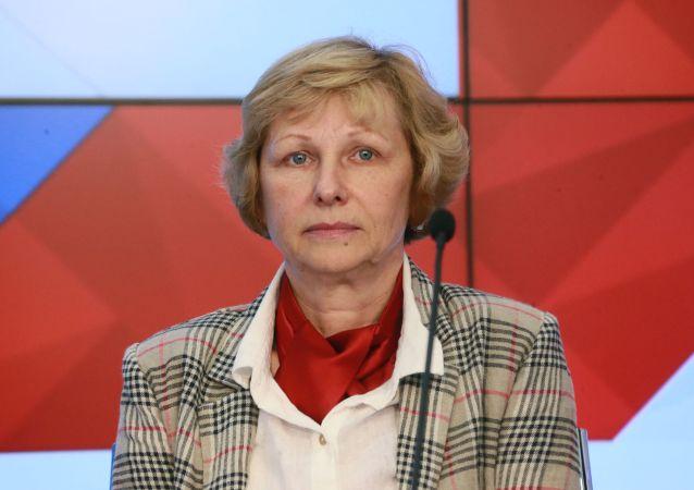 俄科学院地理研究所所长奥莉加·索洛明娜