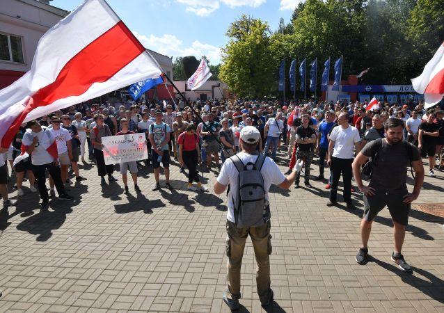 白俄罗斯抗议活动目前造成的损失至少达5亿美元