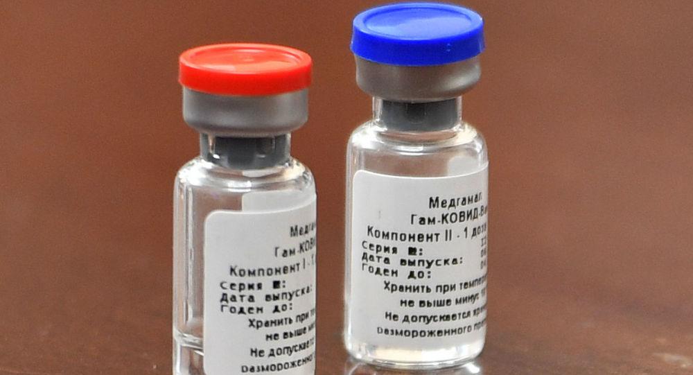 """俄罗斯""""卫星-V""""(Sputnik V)防新冠病毒感染的疫苗"""