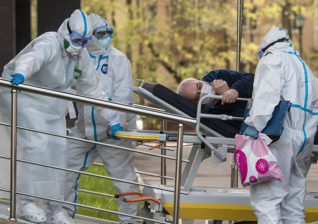 俄单日新增新冠病毒感染病例6148例 累计超110.3万例