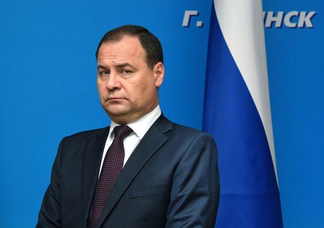 白俄罗斯总理罗曼·戈洛夫琴科