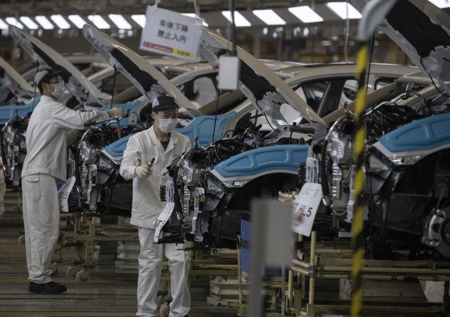 9月份中国工业生产者出厂价格同比下降2.1%