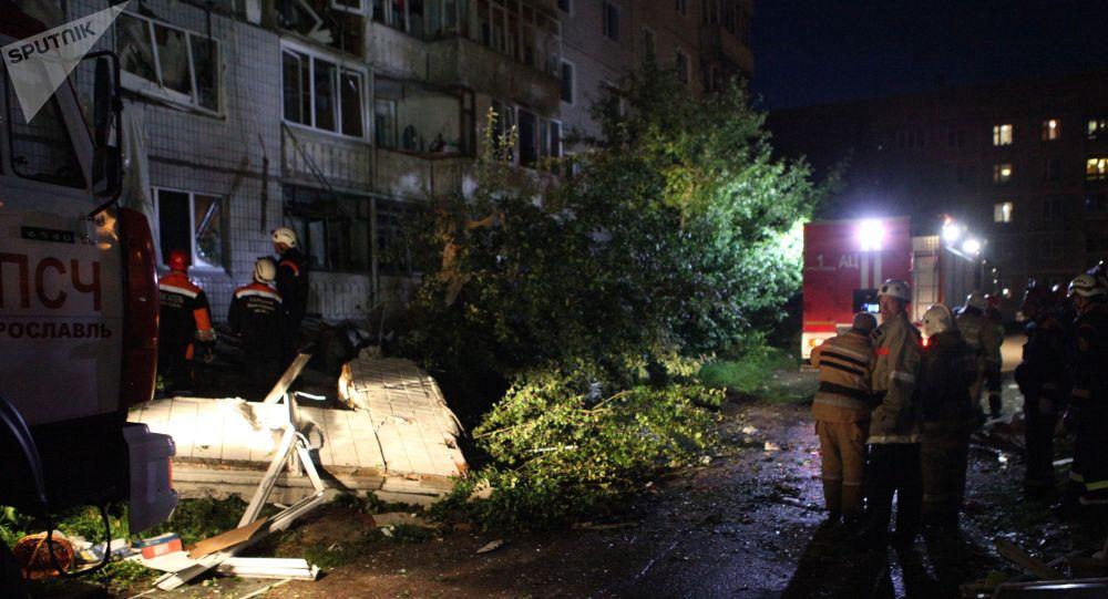 雅罗斯拉夫尔燃气爆炸现场的救援工作已结束